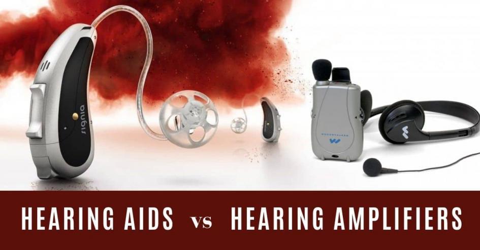 Hearing Aids vs. Hearing Amplifiers