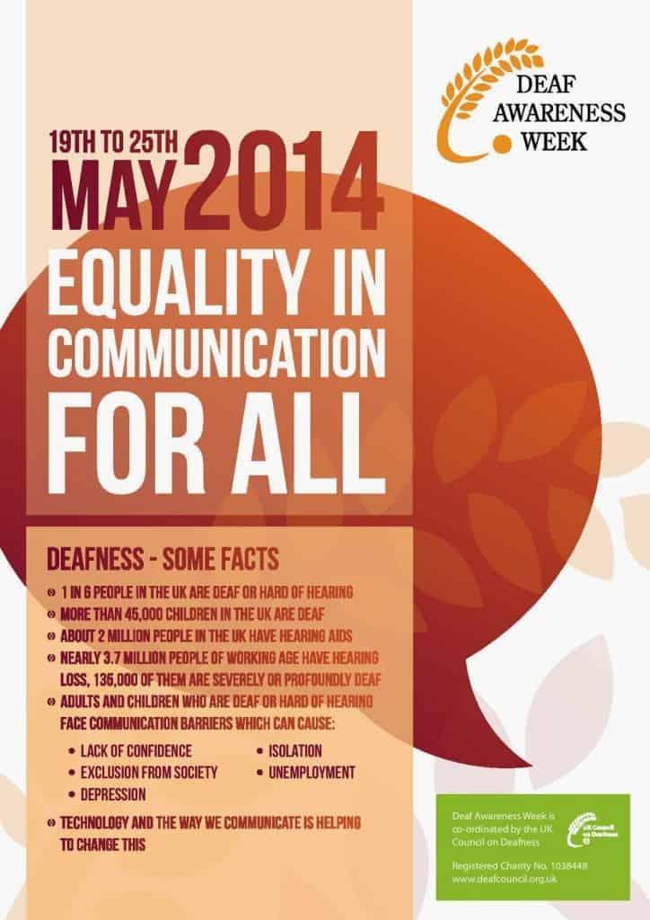Deaf Awareness Week 2014
