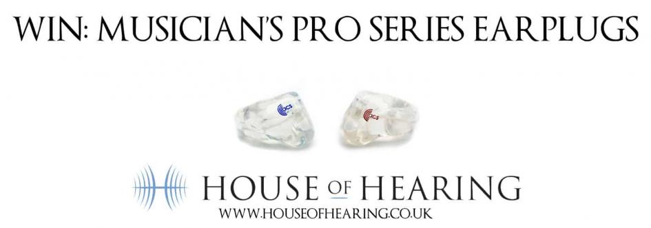 CLOSED: Win A Pair of Musician's Pro Series Earplugs