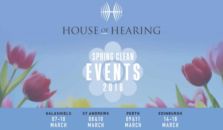 House of Hearing's Spring Clean Event: Special offers and free hearing aid cleaning this March